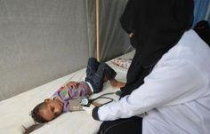 """اخبار اليمن العاجلة - اليمن..""""الكوليرا"""" يتفشى بسرعة فائقة وتوقع 200 ألف إصابة"""