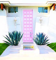 Palm Springs Pink Door   KELLY GOLIGHTLY