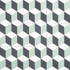 Carrelage ciment palau aspect carreaux de ciment multicolore dim 20 x 20 cm - Acheter carreaux de ciment ...