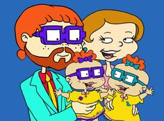 Chuckie and Lil Finster | Community Post: WHO MARRIED WHO? YOUR FAVORITE 90'S CARTOONS TODAY
