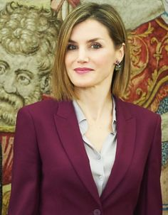 Queen Letizia attends several audiences at Zarzuela Palace
