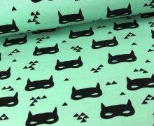 Jersey - Bat Mask - Mint - Andrea Lauren