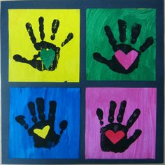 25 Precious Handprint Crafts for Toddlers - Page 12 of 26 - Play Ideas