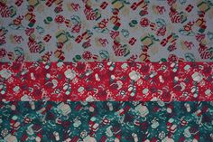 Clothworks Small XMAS gifts/presents cotton poplin fabric Christmas fabrics tablecloth decoration XMAS decor quilting fabric - Per METRE