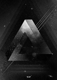 Triangle Art Print by Guilherme Rosa // Velvia
