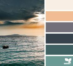{ color sea } image via: The post Color Sea appeared first on Design Seeds. Design Seeds, Sea Colour, Color Pop, Beach Color, Colour Schemes, Color Combos, Color Concept, Tuscan Design, Dose Of Colors