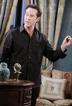 """""""Playing nice is not an option."""" - Diane S.  John Black on Days of Our Lives"""