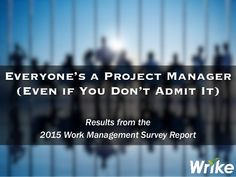 Why everyone is a Project Manager !