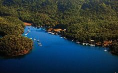 The Most Beautiful Bays of Turkey - Protected Coves by the Bördübed Port, Gökova, Mugla.