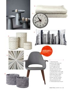 Sweet Paul Magazine - Summer 2012 - Page 32-33 Canisters and Chair