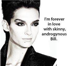 Immagine di bill, bill kaulitz, and kaulitz