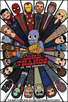 Infinity war art  #avengers #thanos #infinitywar