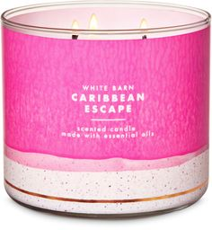 Bath & Body Works and single wick candles are made using the highest concentration of fragrance oils. Browse a variety of scents for your home now! Bath Candles, 3 Wick Candles, White Candles, Scented Candles, Candle Jars, John Lewis, Westerns, White Barn, Home Fragrances