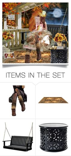 """""""Welcome to our porch🍂 TAS ❤️"""" by pebbles78 ❤ liked on Polyvore featuring art"""