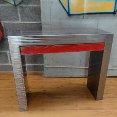 Console métal design 1 tiroir
