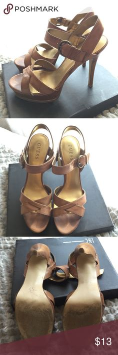 Guess heels Woman Guess heels in a size 8 GUESS Shoes Heels