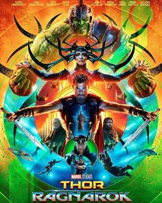 In case you missed the awesomeness of the #ThorRagnarok poster from #SDCC2017 this weekend. #Thor #Ragnarok #Hulk #IncredibleHulk #Loki #Hela #Asgard #Odin #Surtur #ChrisHemsworth #MarkRuffalo #TomHiddleston #CateBlanchett #JeffGoldblum #BenicioDelToro