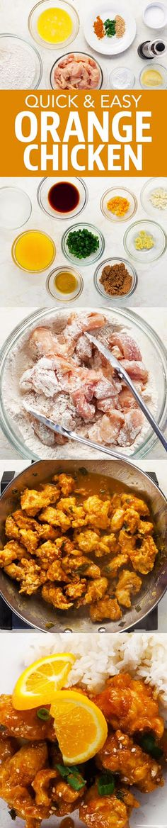 The Best Orange Chicken Recipe for the New Year