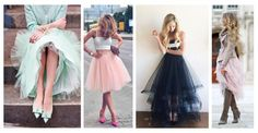 Tiulowe spódnice to hit ostatnich sezonów. Marzyłaś kiedyś o tym, aby zostać baletnicą lub księżniczką? Jeśli tak, to ta stylizacja jest właśnie dla Ciebie. W tym elemencie garderoby każda z nas może wyglądać naprawdę zjawiskowo. #spódnice #tiul #spódnica #kobieta #moda #styl #trendy #2016