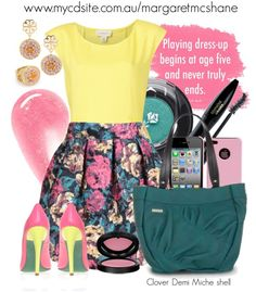 """""""Clover Demi Miche Shell"""" by mcshanes on Polyvore"""