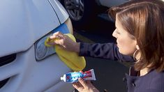 15 Car Cleaning Tips & Tricks to Transform Your Dirty Car - House Good Clean Foggy Headlights, Cleaning Headlights On Car, Car Headlights, Diy Car Cleaning, Cleaning Walls, Toilet Cleaning, Cleaning Supplies, Headlight Cleaner, Headlight Repair