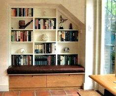 Bookshelf With Bench Seat Best Window For Bookcase