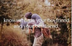 So true, and it is the best feeling in the entire world!<3