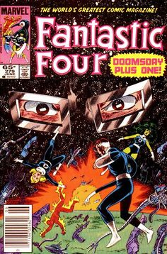Fantastic Four # 279 by John Byrne & Jerry Ordway
