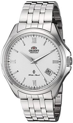 Orient Mens Herald Japanese Automatic Stainless Steel Dress Watch ColorSilverToned Model SER1U002W0 -- Check out the image by visiting the link. (Note:Amazon affiliate link)