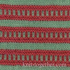 Multi-Color Stitch Pattern 1
