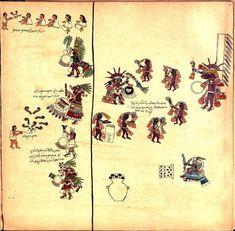 El Códice Borbónico está dividido en cuatro partes y describe las fiestas rituales de los aztecas. Especial