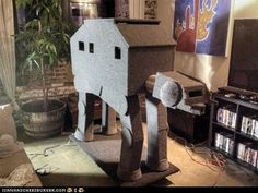 Combine your geeky loves for Star Wars and cats.