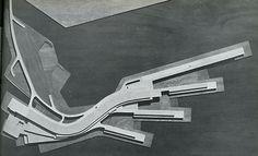 Architectural Model - Roberto Maestro, Antonello Nuzzo, Anna Olivetti Nuzzo, Gilberto Orioli, Silvia Paoli Maestro. Casabella 293 1964: 7 | RNDRD