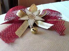 mamma di b.e.a.:decorazione natalizia per pacco