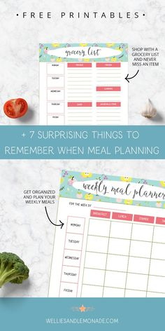 Before you find yourself standing in front of the fridge at 5 pm remember this 7 surprising things when meal planning