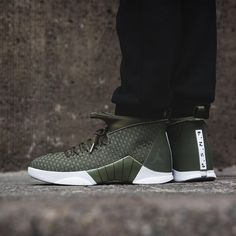 305fbd0b3cd138 Air Jordan 15 PSNY « Olive Green »