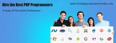 Hire Dedicated and Affordable PHP Programmers with us & Get Best PHP Development Now.
