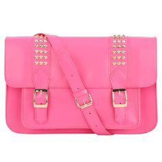 Primark studded satchel bag