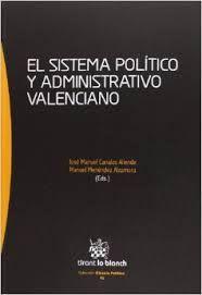 El sistema político y administrativo valenciano