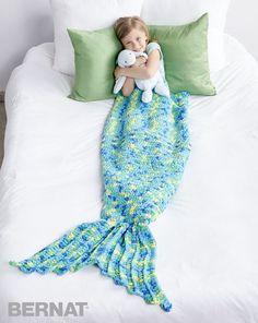 My Mermaid Crochet Snuggle Sack