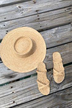 Banda Raffia Sun Hat