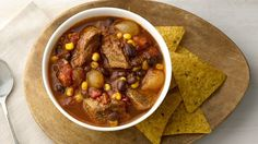 Need a change from classic beef stew?  Go Mexican with this easy-to-make flavor-packed version that goes together in minutes!