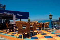 Restaurante Botavara. Vistas panorámicas.  Amazing views from the terrace.