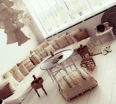 Moroccan Living Room, Moroccan Decor, Boho Living Room, Oriental Decor, Apartment Decor, Home Deco, Deco Salon, Boho Bedroom Decor, Islamic Decor