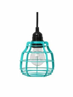 HK-living Hanglamp LAB met stekker groen Ø13x17cm,LAB pool green #blue #light #lamp #ceiling #interior #myhomeshopping