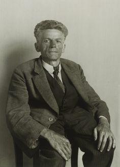 August Sander, Laborer from Frechen, 1930