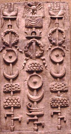 Roman legion standards