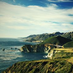 Bixby Bridge, Big Sur, California / Kristen Drozdowski - I used to live near here.