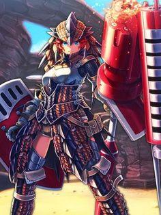 MH: Mezeporta Reclamation - Female Character