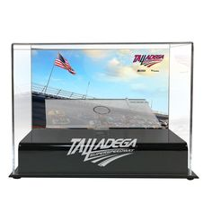 Fanatics Authentic Talladega Superspeedway 1:24 Die Cast Display Case with Sublimated Plate